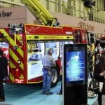 Emergency Services Show Fire engine exhibition